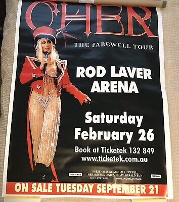 CHER The Farewell Tour HUGE Poster for Billboard 140cm x 100cm VERY RARE