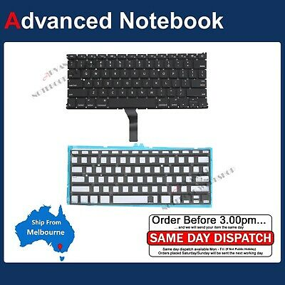 """Keyboard for Apple MacBook Air 13"""" A1369 A1466 2011 2012 2013 2014 2015 Backlit"""