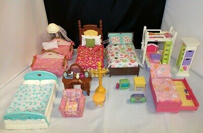 Fisher Price Loving Family BEDROOM Furniture & Accessories - YOU CHOOSE