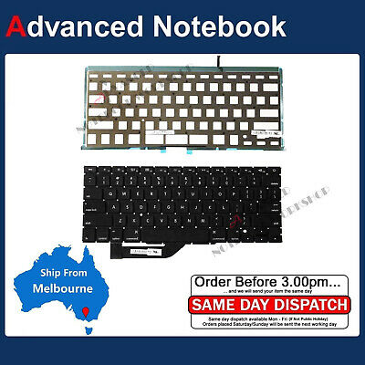 "Backlight Keyboard for Apple Retina MacBook Pro 15"" A1398 2012 2013 2014 2015"
