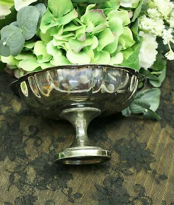 WM. A. Rogers Silver Plated Candy Nut Dish Footed Compote Pedestal Bowl