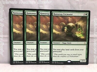 4x Magic the Gathering: Hour of Devastation - Ramunap Excavator