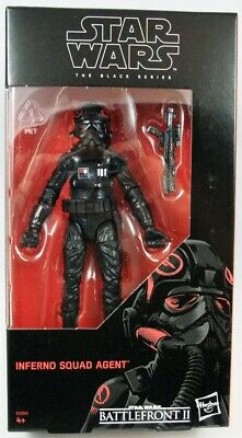 """HASBRO STAR WARS BLACK SERIES 6"""" inch INFERNO SQUAD AGENT ACTION FIGURE"""