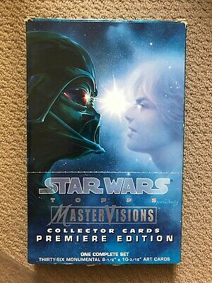 Star Wars Topps Master Visions Collector Cards Premiere Edition