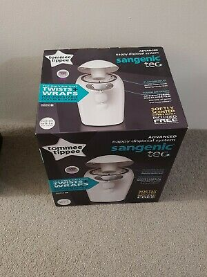 Tommee Tippee Sangenic Nappy Disposal System + 6 Refill Cassette