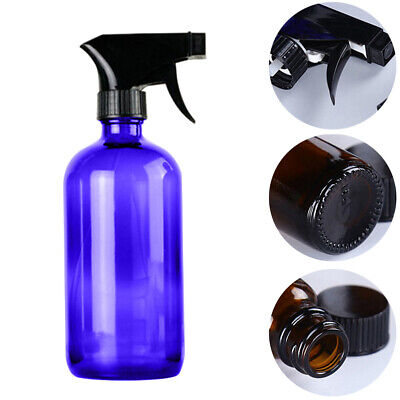HN- 250/500ml Glass Spray Bottle Essential Oil Cleaner Refillable Container Sera