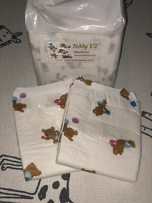 Bambino teddy V2 Full 8-Pack adult printed diapers