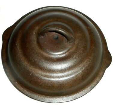 VintagE Self Basting 8'' Cast Iron Lid,Dutch Oven or Skillet Lid