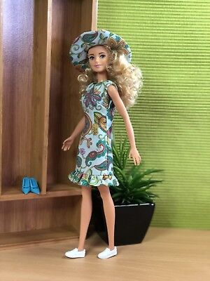 OOAK Doll Fashion for Barbie Silkstone Mod Vintage Clare's Couture 14