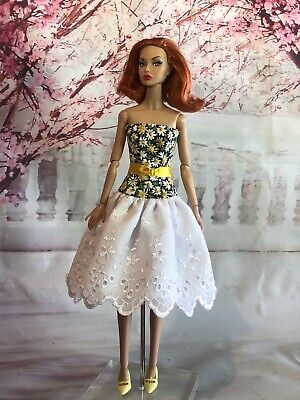 OOAK Doll Fashion for Barbie, Articulated Silkstone, Poppy,  Clare's Couture 21