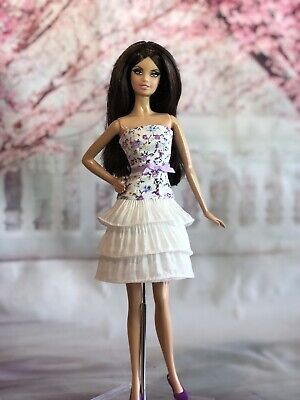 OOAK Doll Fashion for Barbie, Articulated Silkstone, Poppy,  Clare's Couture 18