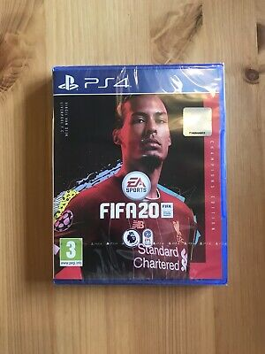 Brand New Ps4 Fifa 20 Champions Edition