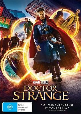 Doctor Strange (DVD, 2017) NEW & Sealed! Region 4