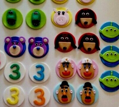 Toy Story 3D Themed edible cake topper Decoration Birthday Christening Party