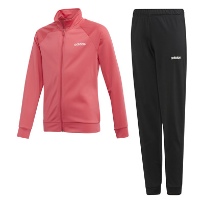 Adidas Kids Linear Tracksuit Running Young Athlete Girls School Sport Gym EH6161