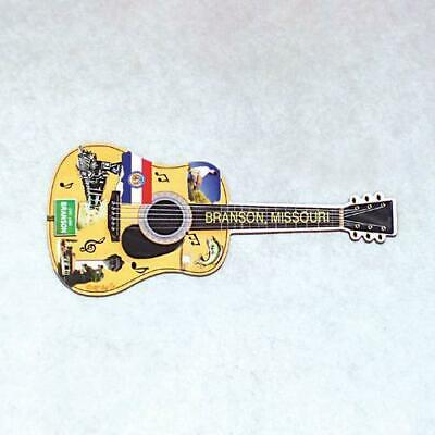 Branson, Missouri (5) Guitar Shaped Christmas Ornaments Party Favor Giveaway