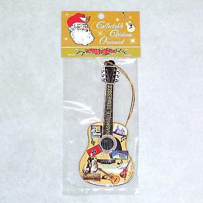 Branson,Missouri (1) Guitar Shaped Christmas Ornament Party Favor Giveaway