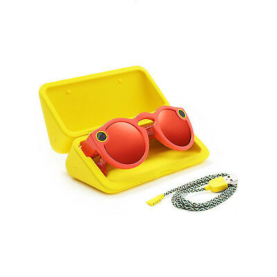 Snapchat Glasses Snap Inc. Snapchat Spectacles Coral Smart Glasses - NEW