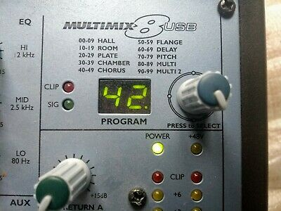 Alesis multimix 8 usb, very good condition