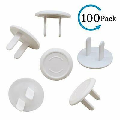 CUGBO 100 Count Outlet Plug Covers Baby Children Proof Electric Socket