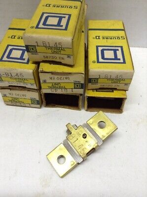 Square D Overload Relay Thermal Unit  B1.45 LOT OF 7