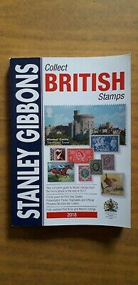 Stanley Gibbons Collect British Stamps Catalogue 2018