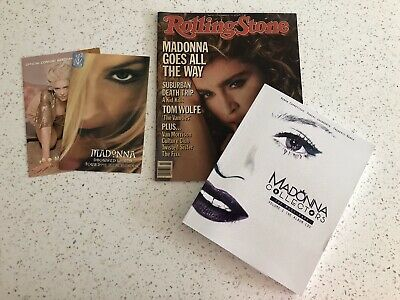 Madonna Collector's Book NEW Rare Import Re-Invention Drowned World Madame X