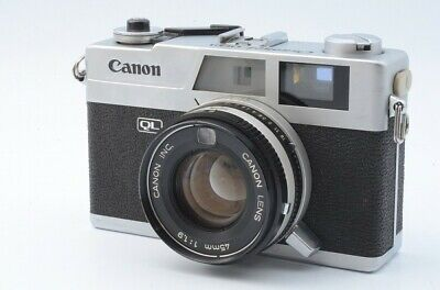 Canon Canonet QL19 QL 19 with 45mm 1.9 45 mm Lens Camera 15637