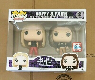Funko POP! Buffy and Faith 2017 Convention Exclusive 2-Pack New York  comic con