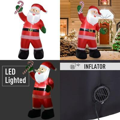 Christmas Holiday Yard Inflatable Outdoor, Light Up LED Airblown Decor 8 ft