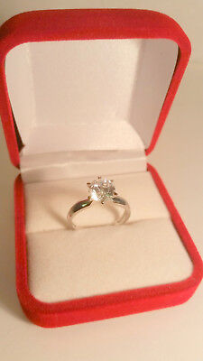 1.75 Ct VS1 Round Brilliant cut Solitaire Engagement Ring White Gold ov Sz 7