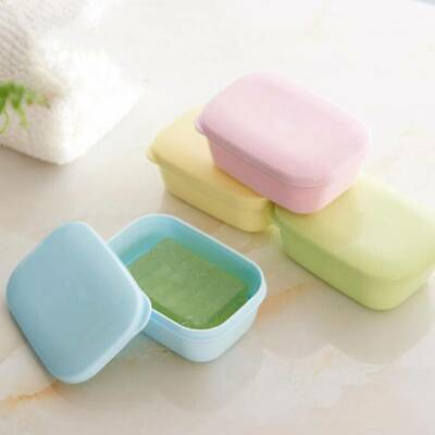 Bathroom Shower Travel Hiking Soap Box Dish Plate Holders Cases Containers New G