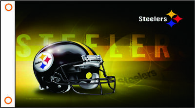 Pittsburgh Steelers Flag 3x5 Lg New Banner No Drop Ship Fast USA Seller