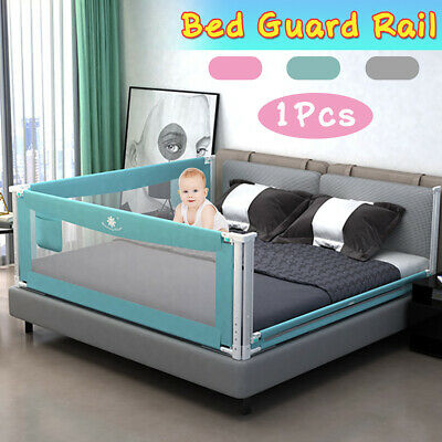 1.5/1.8/2M Child Safety Bed Guard Rail Toddler Crib Side Anti-falling Protect