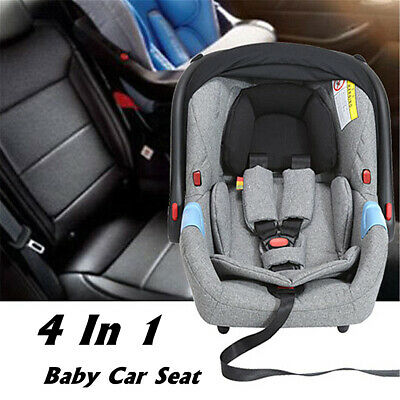 4 In1 Portable Baby Newborn Toddler Infant Safety Car Cradle Seat Chair