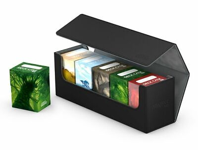 Ultimate Guard Flip Case Archive 400+ Xenoskin Black Card Box Deck Boxing