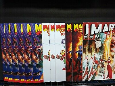 Marvel Comics 1000 Wholesale Auction Lot Of 13 With Variants