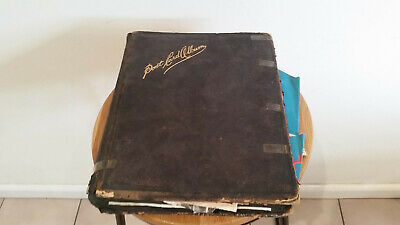 Vintage WW1 WW2 aviation scrap book