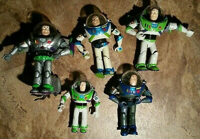 Lot of 5 Toy Story Buzz Lightyear Collectibles - PARTS - PROJECTS