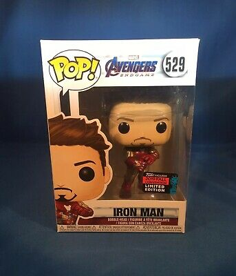 FUNKO POP IRON MAN NYCC Gauntlet Tony Stark SHARED CON 2019 EXCLUSIVE *IN HAND*