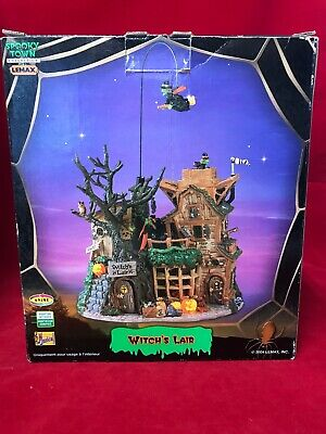 Lemax Witch's Lair Spooky Town Retired w/ Box 2004 #45003