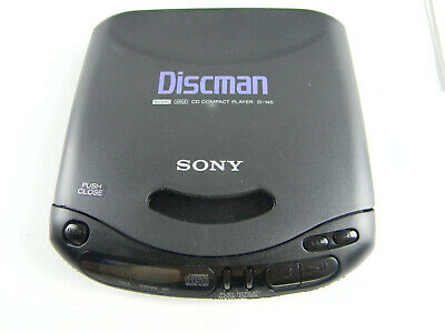Sony Discman Compact CD Player D-145