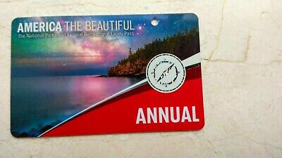 USA National Park Annual Pass, America The Beautiful, valid to end Mar 2020
