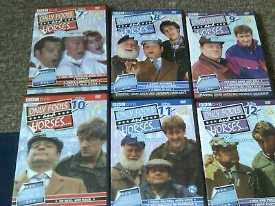 6 ONLY FOOLS + HORSES DVDs