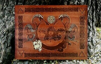 Tavola d'altare Hecate, witchcraft, pentacle, wicca, spells, altar wicca
