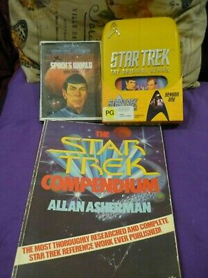 STAR TREK _ SPOCK  NIMOY, ORIGINAL SERIES, Collection, VHS, SCRIPT, CASSETTE