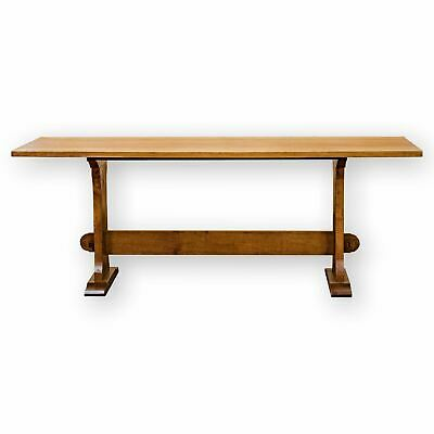 Arts & Crafts Cotswold School Oak 6'6' Dining Dining Table