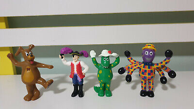 The Wiggles Figurines Wags The Dog Henry The Octopus Captain Feathersword Doroth