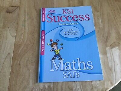 LETTS KS1 SUCCESS REVISION GUIDE AGE 5-7 MATHS SATs QUESTIONS ANSWERS
