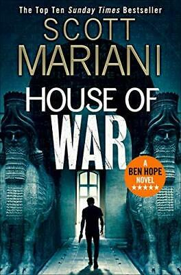 House of War by Scott Mariani Paperback NEW Book